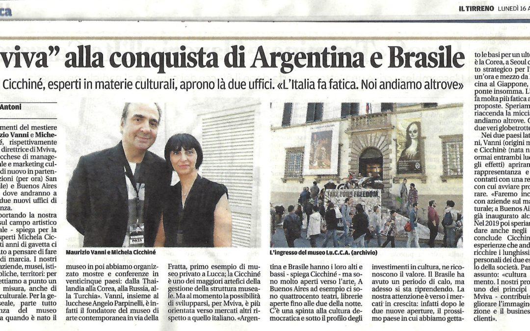 MVIVA alla conquista di Argentina e Brasile