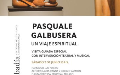 interdisciplinary guided tour at the Pasquale Galbusera exhibition